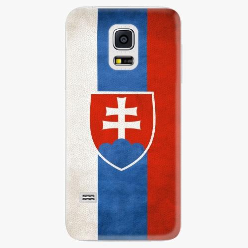 Plastový kryt iSaprio - Slovakia Flag - Samsung Galaxy S5 Mini