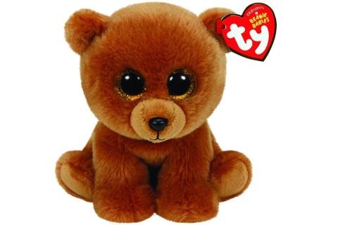Beanie Babies BROWNIE 15 cm - medvídek