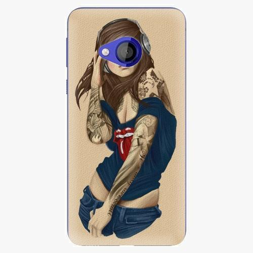 Plastový kryt iSaprio - Girl 03 - HTC U Play