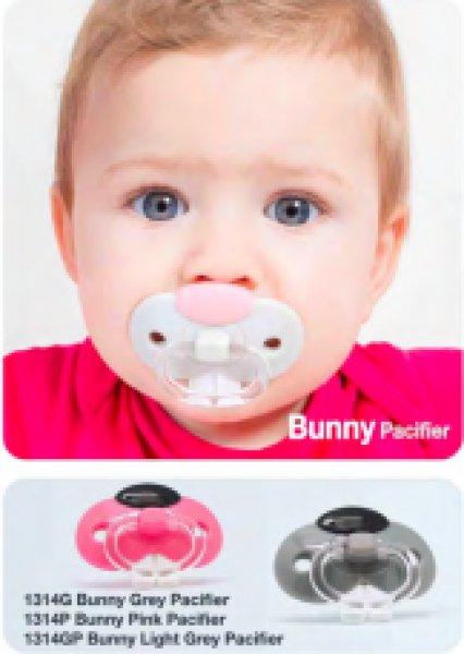 Dudlík - králičí čumáček - růžový