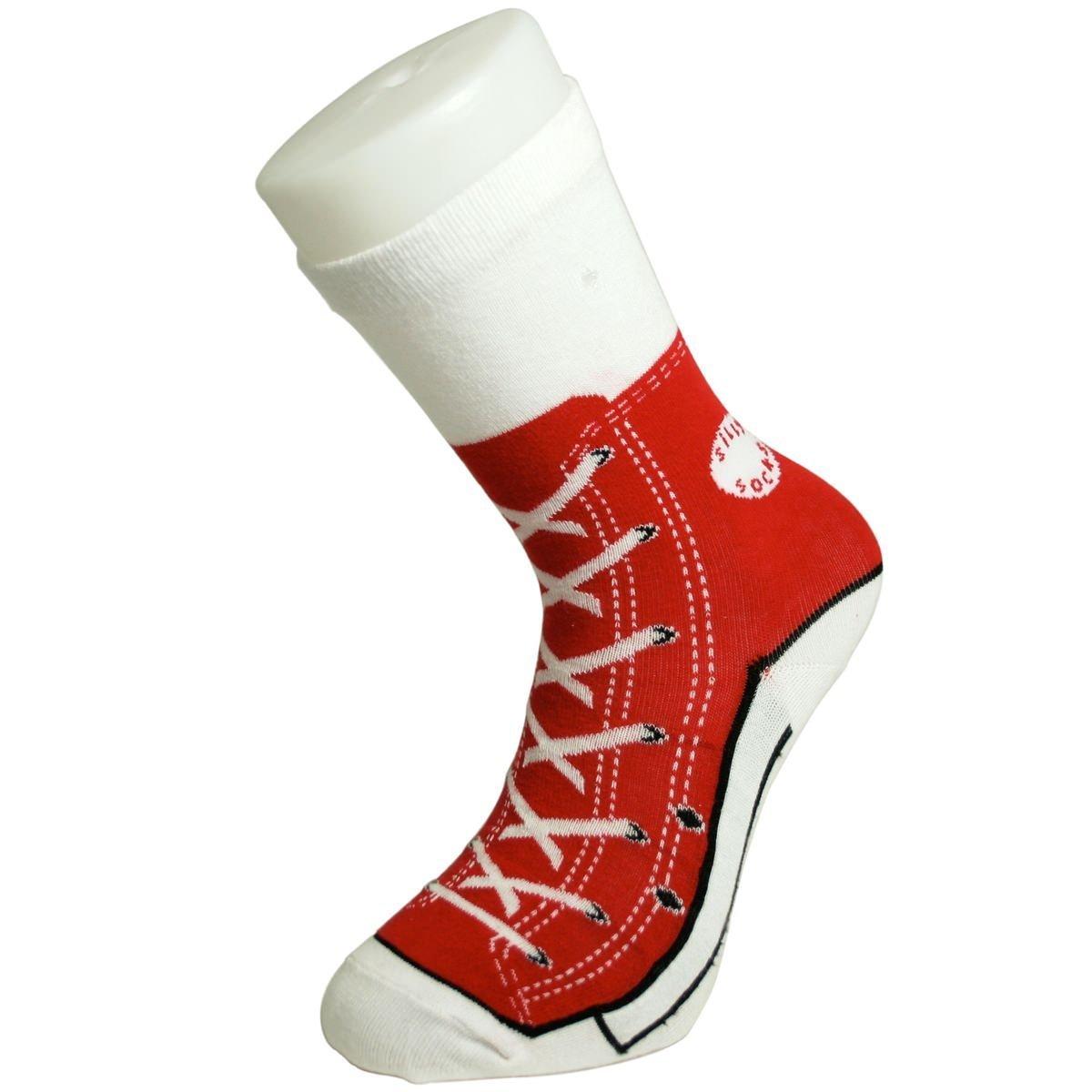 Ponožky v podobě basebalových bot -  různé barevné varianty