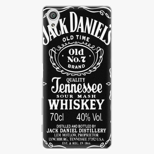 Plastový kryt iSaprio - Jack Daniels - Sony Xperia X