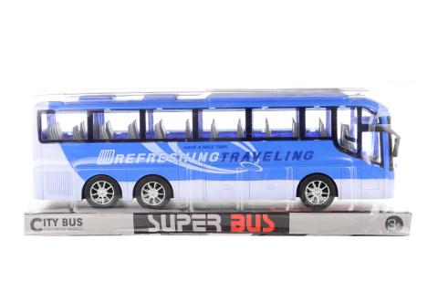 Autobus modrý