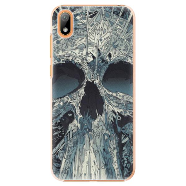 Plastové pouzdro iSaprio - Abstract Skull - Huawei Y5 2019