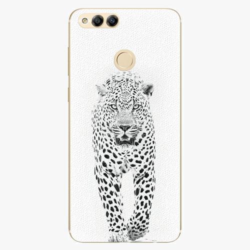Plastový kryt iSaprio - White Jaguar - Huawei Honor 7X