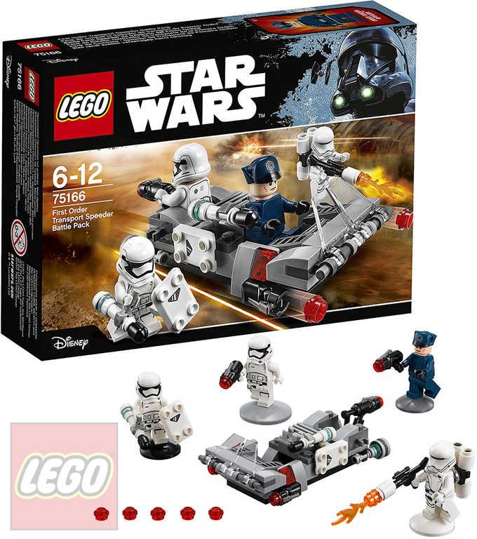 LEGO STAR WARS Transportní speeder Prvního řádu 75166 STAVEBNICE