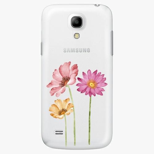 Plastový kryt iSaprio - Three Flowers - Samsung Galaxy S4 Mini