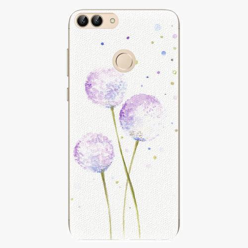 Silikonové pouzdro iSaprio - Dandelion - Huawei P Smart