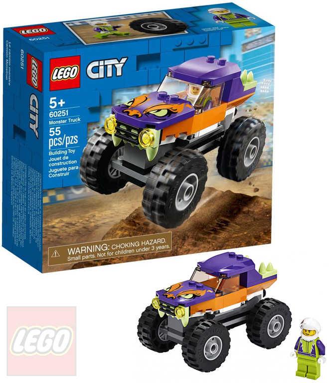LEGO CITY Monster truck 60251 STAVEBNICE