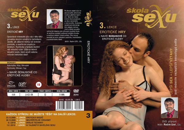 Škola sexu 3. lekce erotické hry - erotický film na DVD