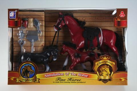 Sada s koněm