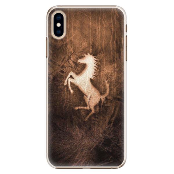 Plastové pouzdro iSaprio - Vintage Horse - iPhone XS Max