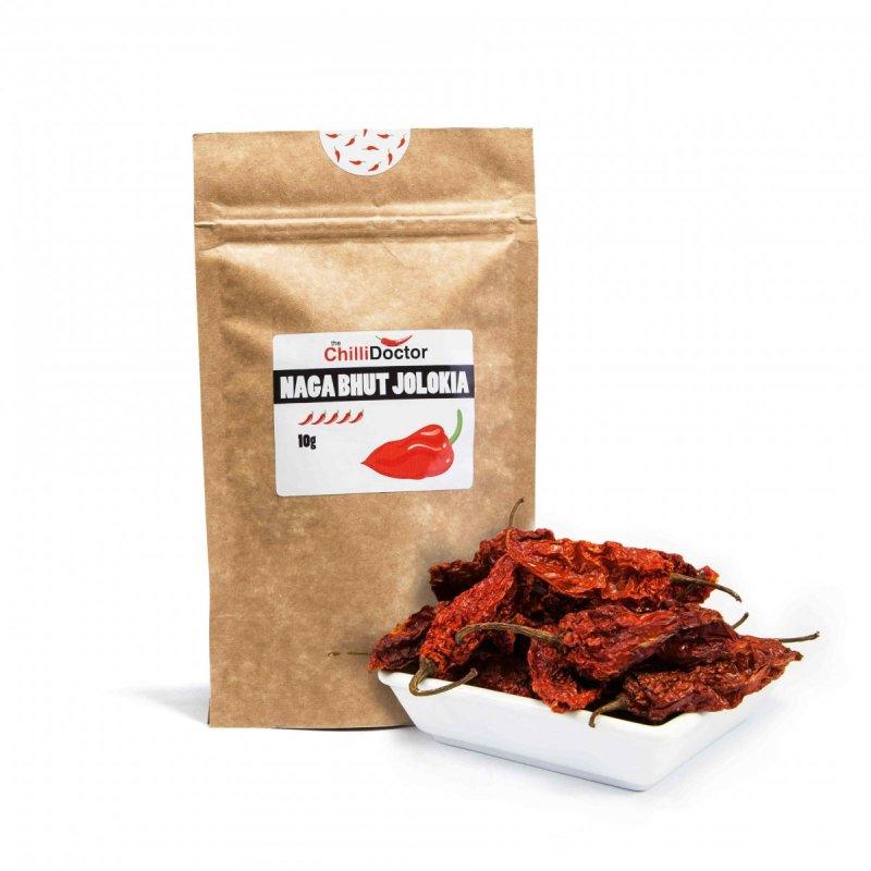 Naga Bhut Jolokia celé sušené 10 g