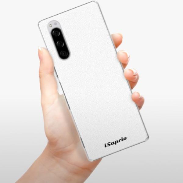 Plastové pouzdro iSaprio - 4Pure - bílý - Sony Xperia 5