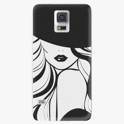 Plastový kryt iSaprio - First Lady - Samsung Galaxy S5