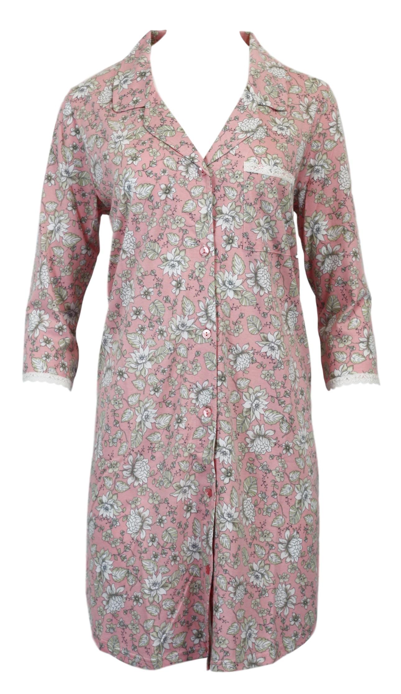 Dámská noční košile 6025 - Vamp - Růžová/XS