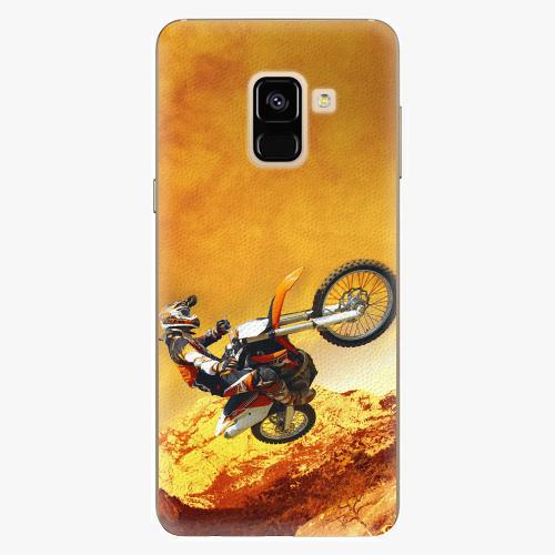 Plastový kryt iSaprio - Motocross - Samsung Galaxy A8 2018