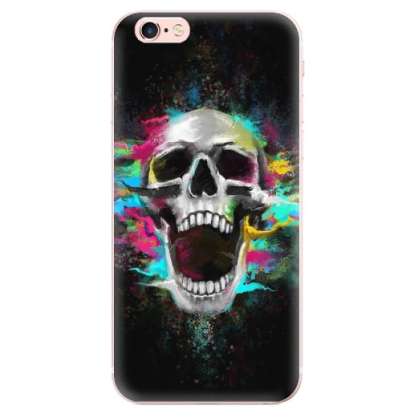 Odolné silikonové pouzdro iSaprio - Skull in Colors - iPhone 6 Plus/6S Plus