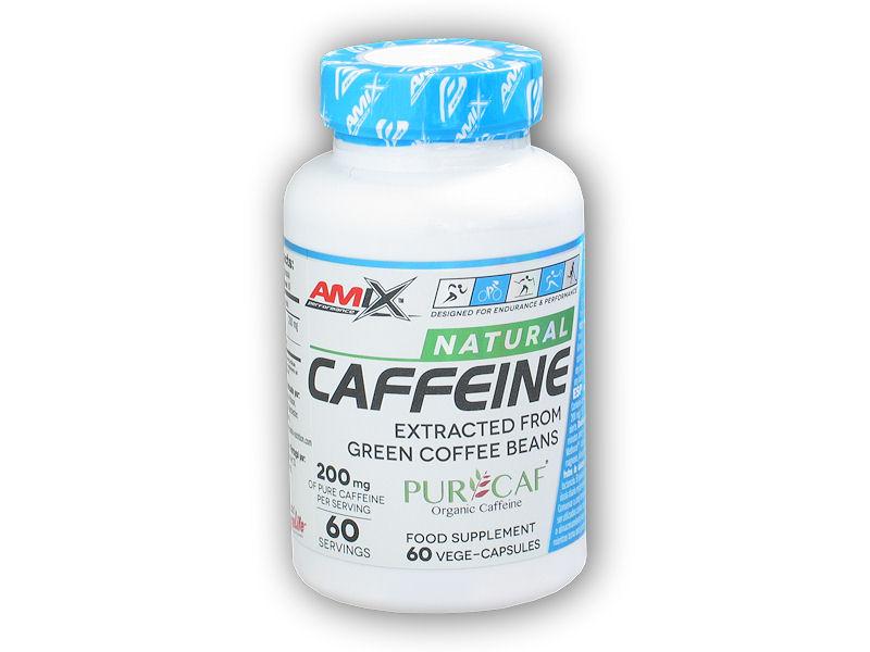 Caffeine Natural 200mg 60 kapslí