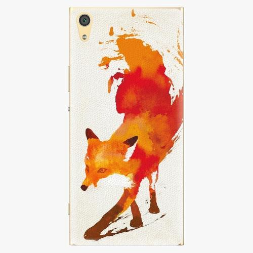 Plastový kryt iSaprio - Fast Fox - Sony Xperia XA1 Ultra