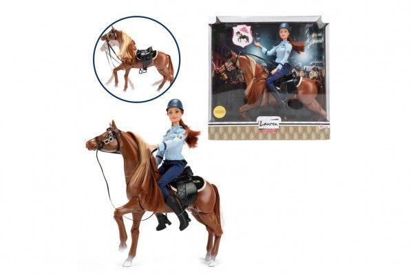 Panenka policistka na koni, 30 cm
