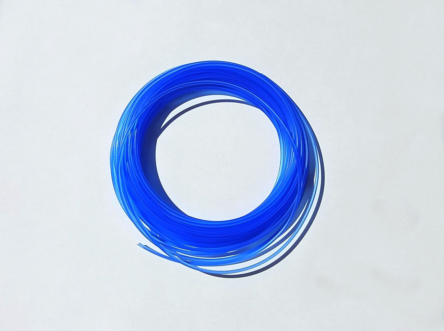 Náplně do 3D pera s LCD displejem - transparentní modrá