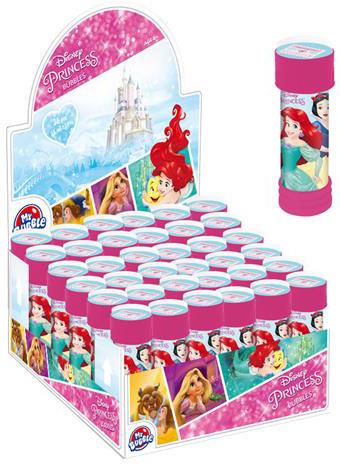 ET Bublifuk Disney Princezny 55ml dětský bublifukovač s kuličkovým labyrintem