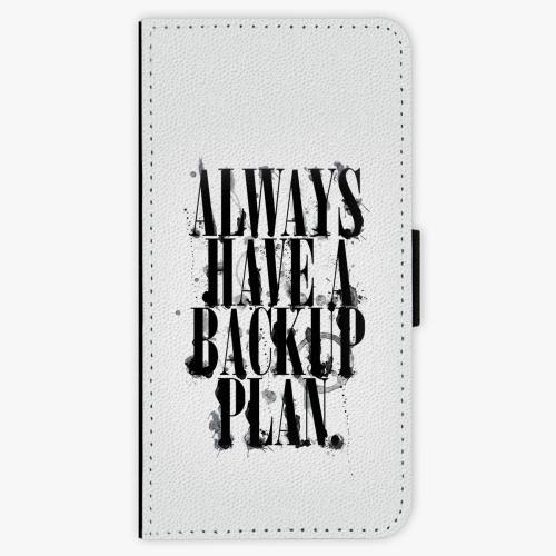 Flipové pouzdro iSaprio - Backup Plan - Huawei Honor 10