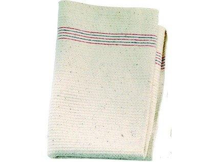Hadr na podlahu bílý nebalený velký 60x80 cm, bavlna 1 ks