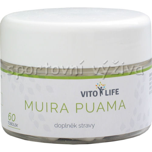 Muira Puama 270mg 60 kapslí