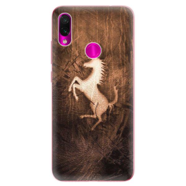 Odolné silikonové pouzdro iSaprio - Vintage Horse - Xiaomi Redmi Note 7