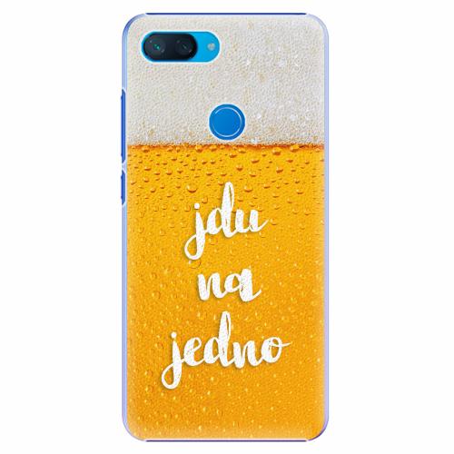 Plastový kryt iSaprio - Jdu na jedno - Xiaomi Mi 8 Lite