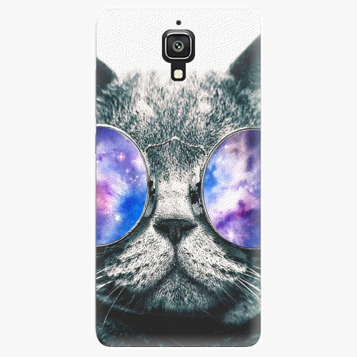Plastový kryt iSaprio - Galaxy Cat - Xiaomi Mi4