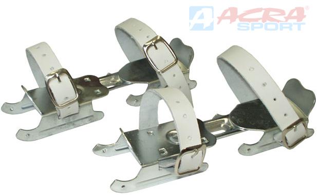 ACRA Brusle dětské kačenky roztahovací kluzky 2 břity max.vel. 30-31 ocel