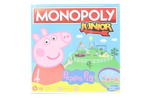 Monopoly Junior prasátko Peppa