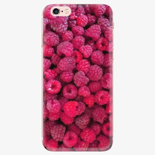 Silikonové pouzdro iSaprio - Raspberry - iPhone 7