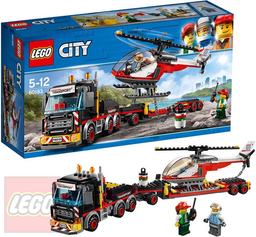 LEGO CITY Tahač na přepravu těžkého nákladu 60183