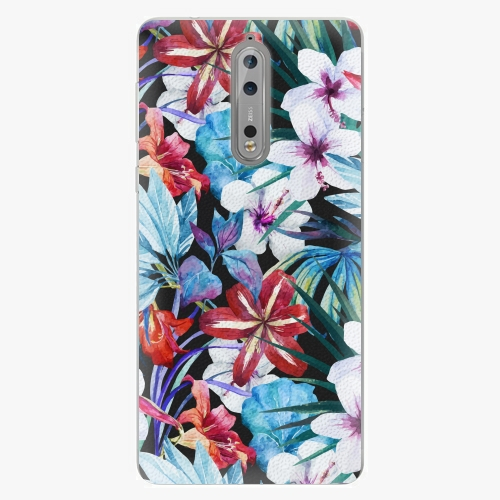 Plastový kryt iSaprio - Tropical Flowers 05 - Nokia 8
