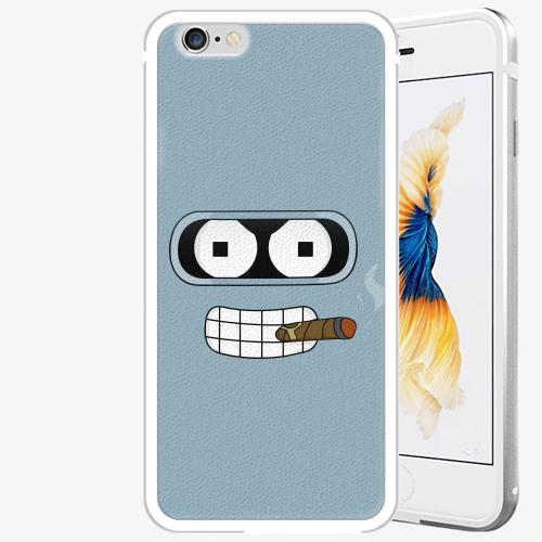 Plastový kryt iSaprio - Bender - iPhone 6 Plus/6S Plus - Silver