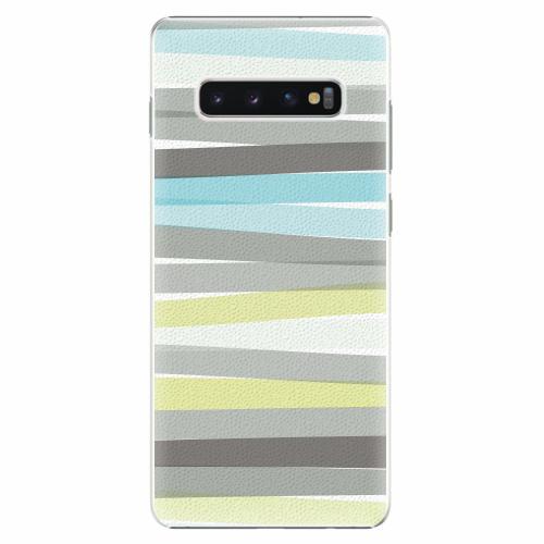 Plastový kryt iSaprio - Stripes - Samsung Galaxy S10+