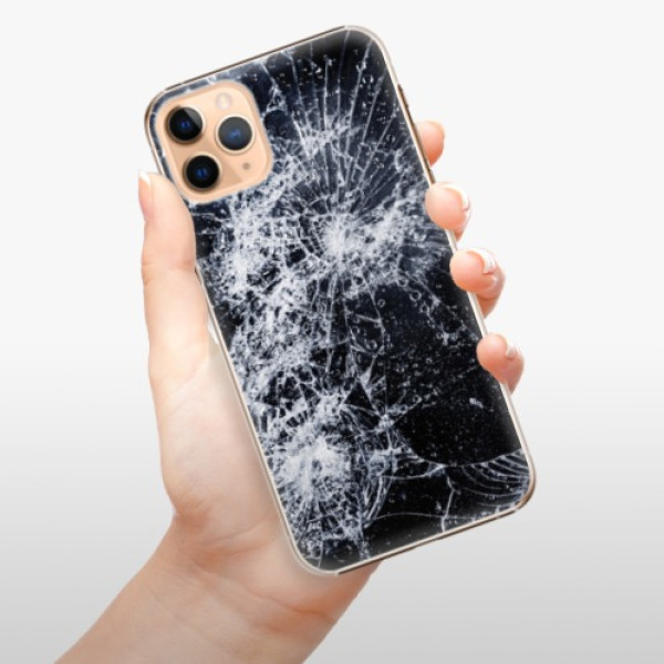 Plastové pouzdro iSaprio - Cracked - iPhone 11 Pro Max