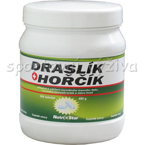 Draslík + Hořčík 100 + 25mg 500 kapslí