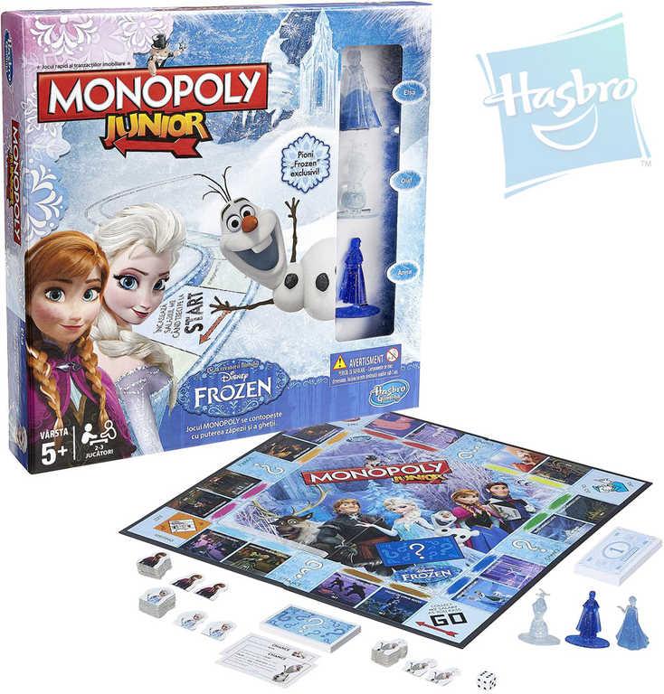 HASBRO Hra Monopoly Junior FROZEN (Ledové Království) *SPOLEČENSKÉ HRY*