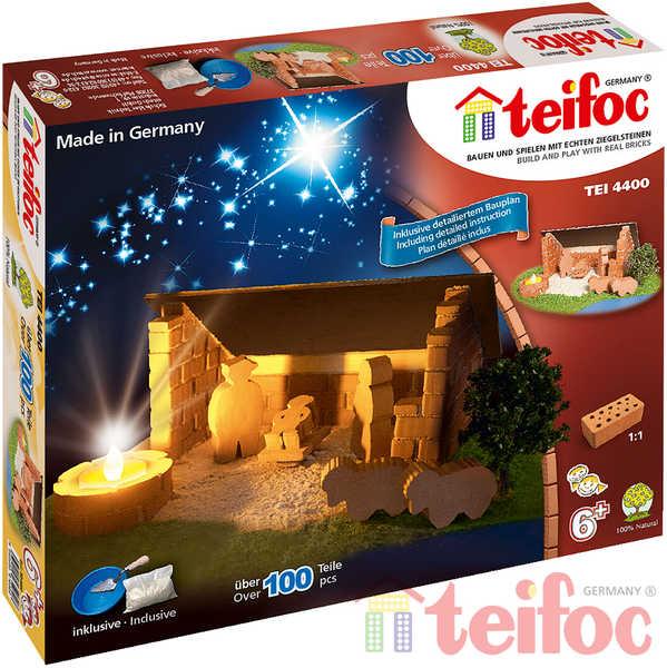 TEIFOC Betlém 4400 *Stavebnice cihly s maltou*
