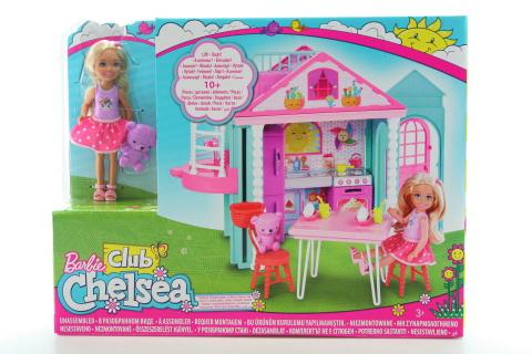 Barbie Chelsea a domeček DWJ50