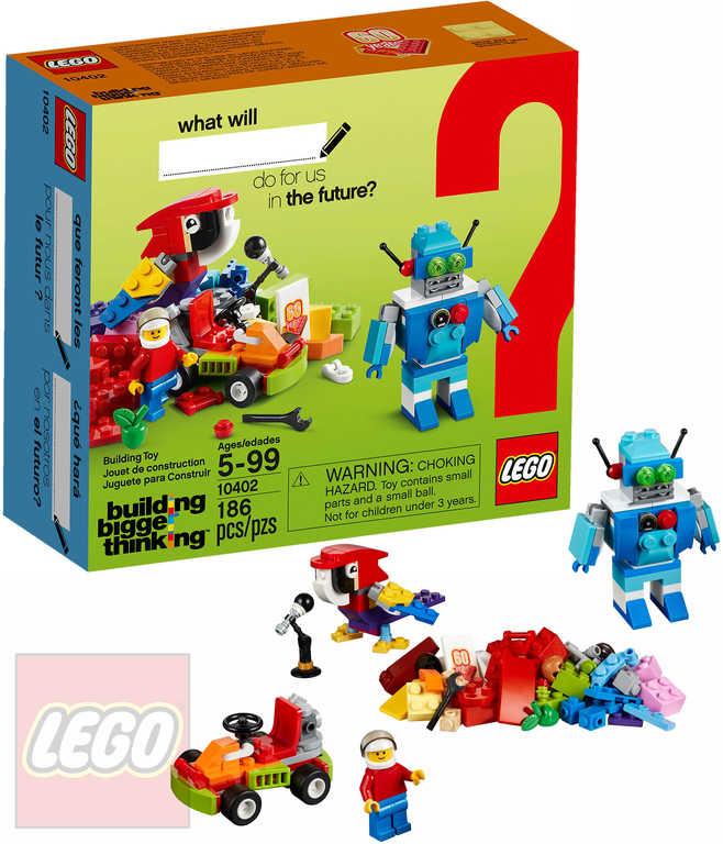 LEGO CLASSIC Zábavná budoucnost 10402 STAVEBNICE