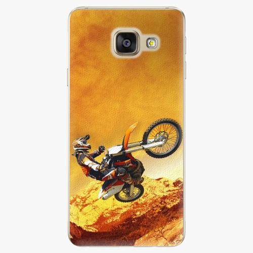 Plastový kryt iSaprio - Motocross - Samsung Galaxy A3 2016