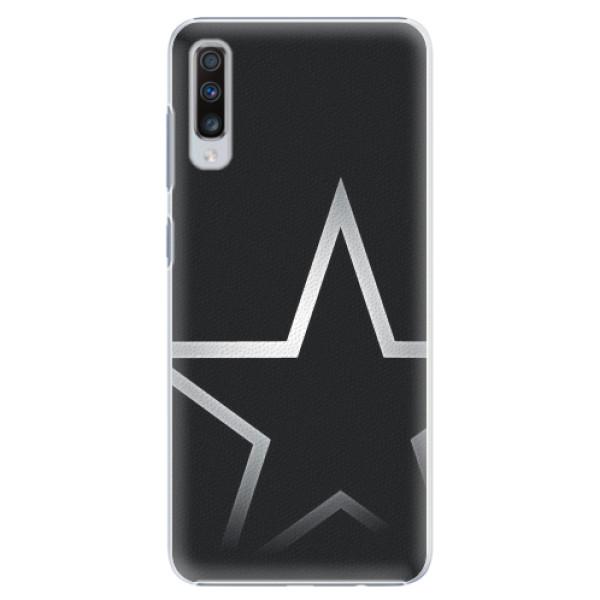 Plastové pouzdro iSaprio - Star - Samsung Galaxy A70