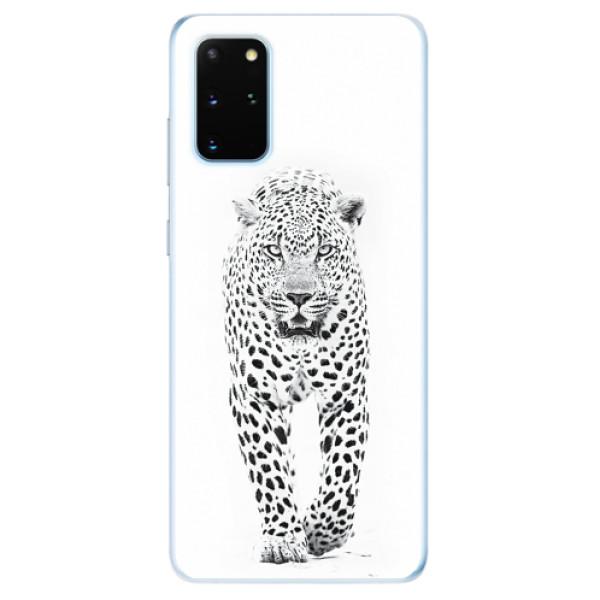 Odolné silikonové pouzdro iSaprio - White Jaguar - Samsung Galaxy S20+
