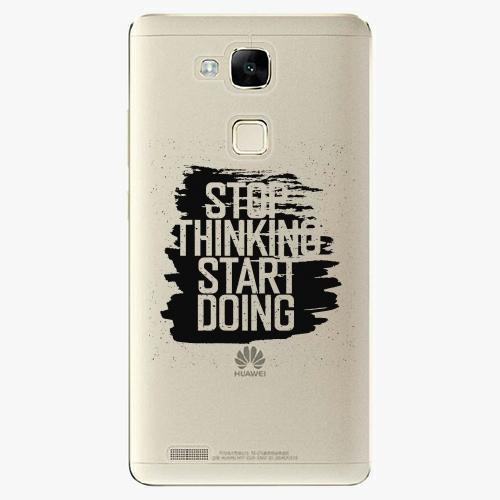 Plastový kryt iSaprio - Start Doing - black - Huawei Mate7